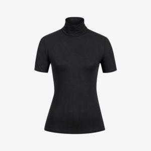 Erlich Textil Damen T-Shirt Rollkragen Ruth