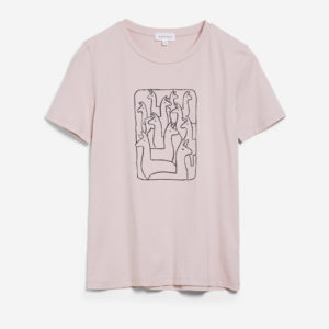 Armedangels Damen T-Shirt Maraa Alpaca Gang