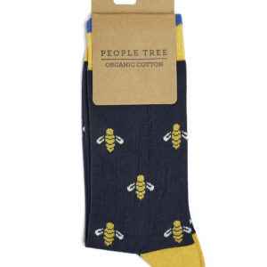 People Tree Unisex Socken Bee