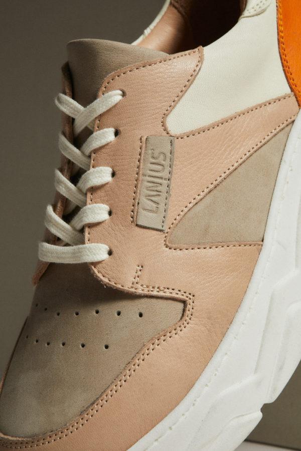 Lanius Damen Schuh Sneaker Nude