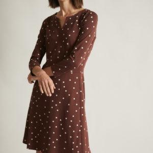 Lanius Damen Kleid Etuikleid pretty dots