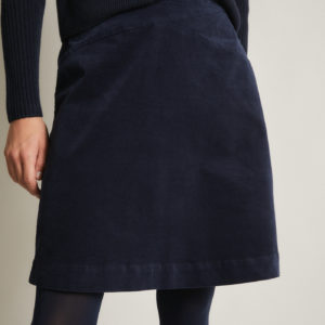 Lanius Damen Rock Velvet night blue