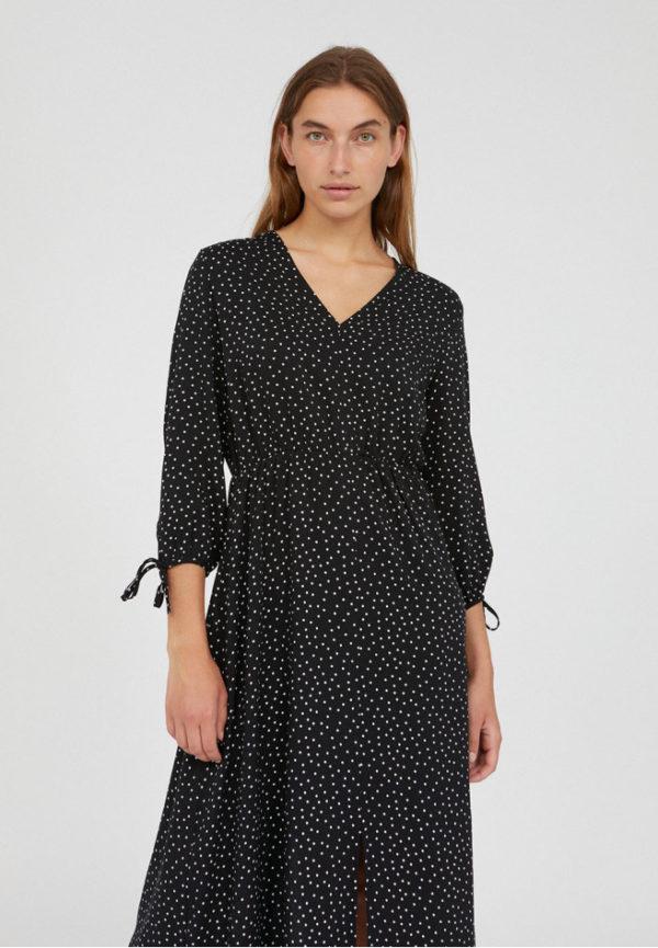 Armedangels Damen Kleid Weilaan Easy Dots