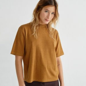 Thinking Mu Damen T-Shirt Aidin Hemp Caramel