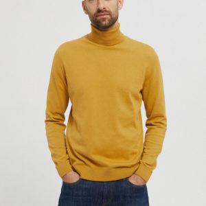 Armedangels Herren Pullover Glaan mustard yellow