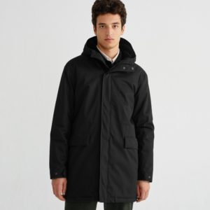 Thinking Mu Herren Jacke Black Trash Peps Coat