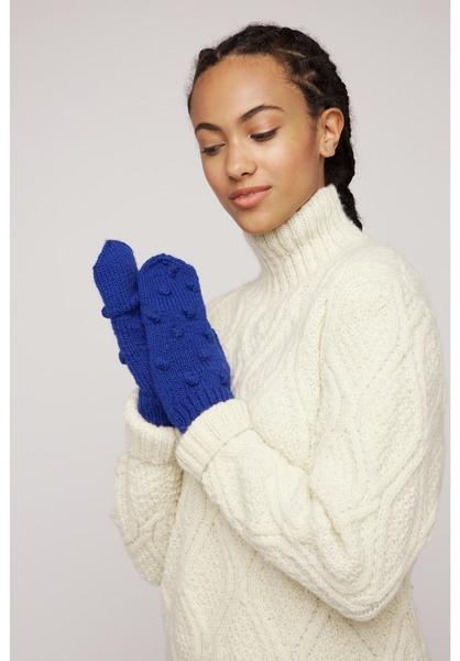 People Tree Damen Handschuhe Bobble Mittens
