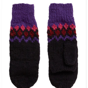 People Tree Damen Handschuhe Fairisle Gloves