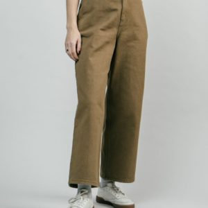 Brava Damen Hose Wide Leg Toffee