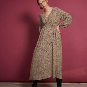 Jan`n Damen Kleid Ellis Reptile Print