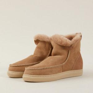 Lanius Damen Schaffell Boots