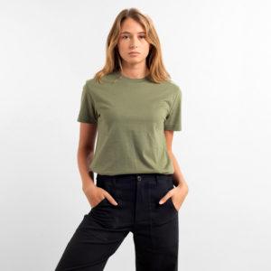 Dedicated Damen T-Shirt Mysen Base Leaf Green