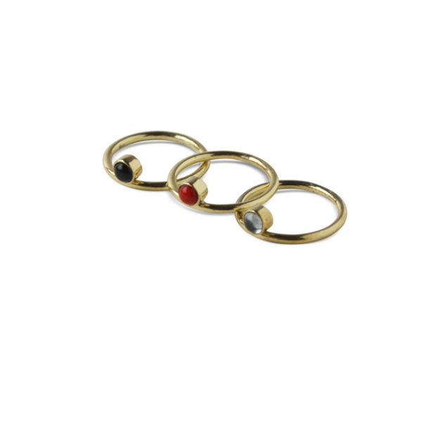 Ting Goods Ring Lop Stone Messing