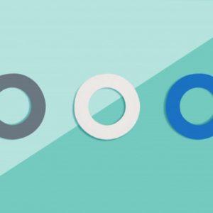 Soulbottles 3er Pack Ersatzgummis weiß, blau, grau