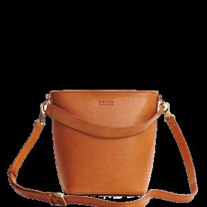 O My bag Damen Handtasche Bobbi Bucket Eco Cognac