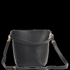 O My bag Damen Handtasche Bobbi Bucket Eco-Black