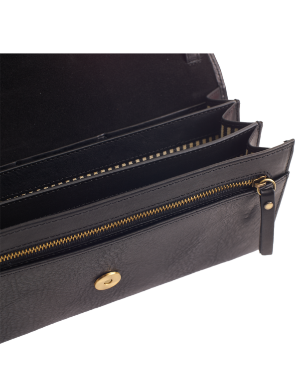 O My Bag Damen Handtasche Kirsty Clutch black
