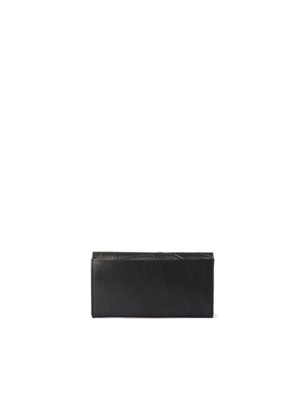 O My Bag Geldbörse Envelope Pixie Eco black/croco classic