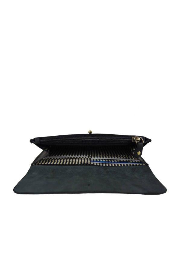 O My Bag Geldbörse Pixies Pouch Eco Black