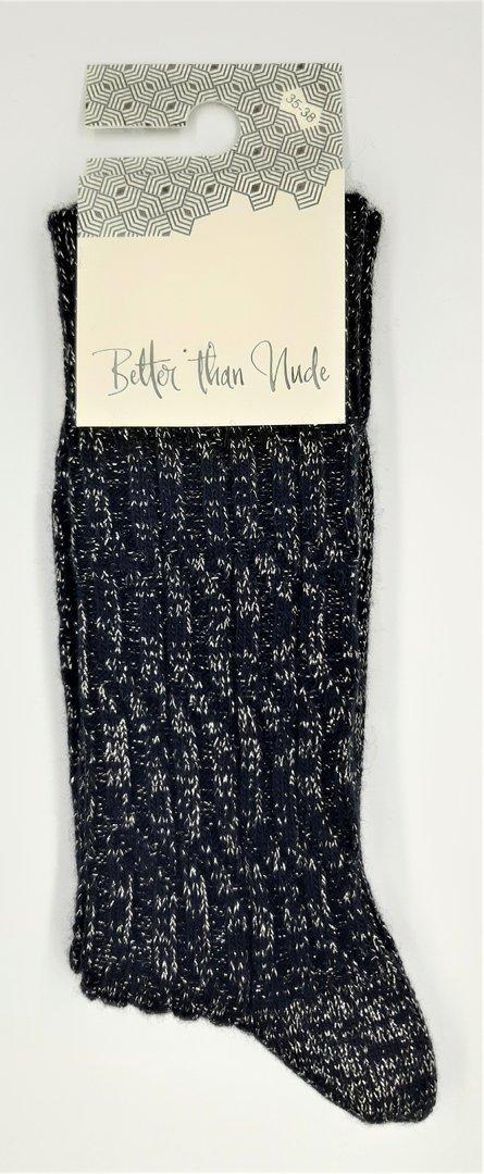 Better than Nude Damen Socken BTN353 Black