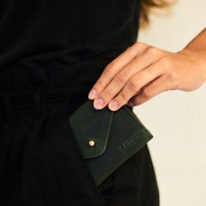 O My Bag Geldbörse Josie´s Purse Green Hunter