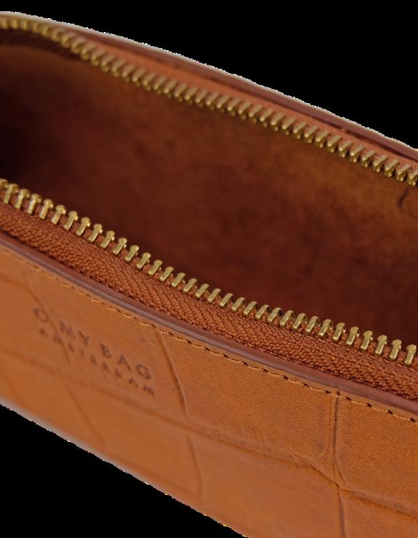 O my Bag Stifttasche Pencil Case Large Cognac Croco