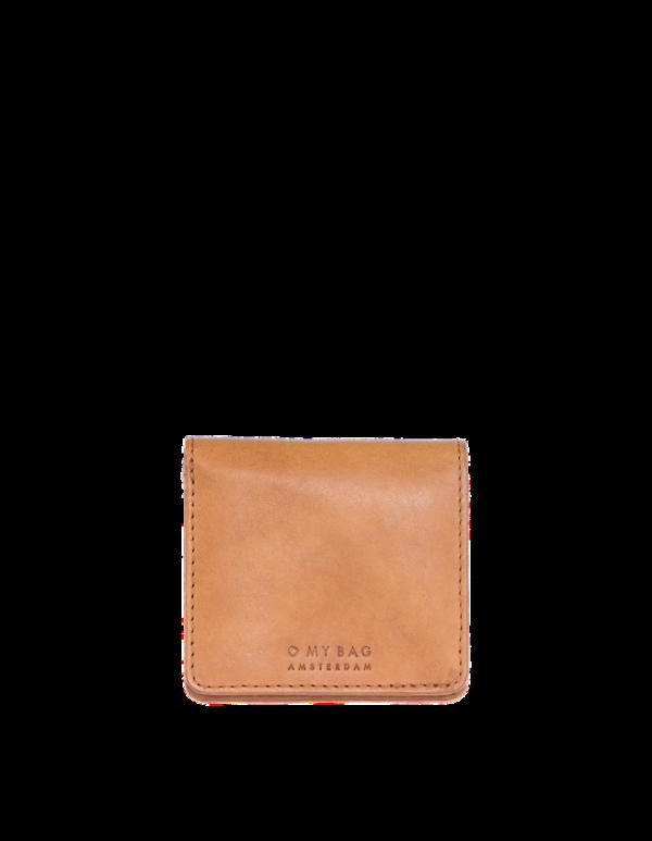 O My Bag Geldbörse Alex Fold-Over Cognac