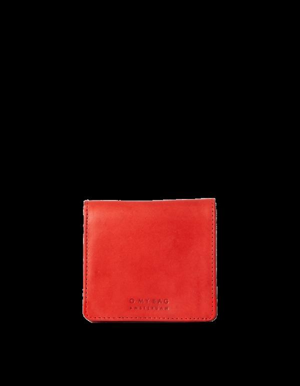 O My Bag Geldbörse Alex Fold-Over Red