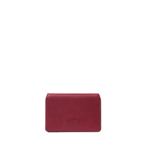 O My Bag Cassies Cardcase Ruby Classic Vachetta