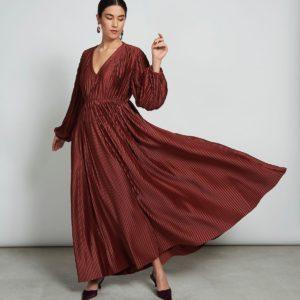 Jan`N June Damen Kleid Ellis Plissee Framboise