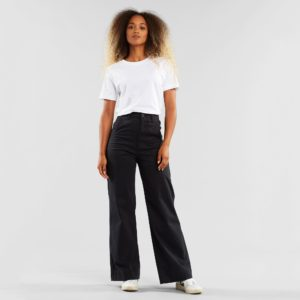 Dedicated Damen Hose Vara Workwear Black