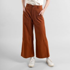 Dedicated Damen Hose Vara Mocha Brown