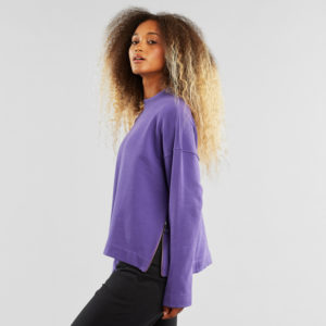 Dedicated Damen Pullover Lerdala Purple