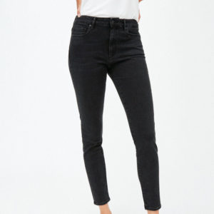 Armedangels Damen Jeans Tillaa washed down black