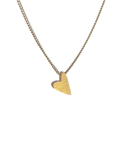 Turina Kette #lovedbyme sparkling gold
