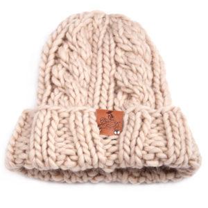 Grannys Finest Mütze Rita Sand