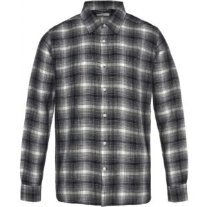 KnowledgeCotton Herren Hemd 90802 Larch LS Checked