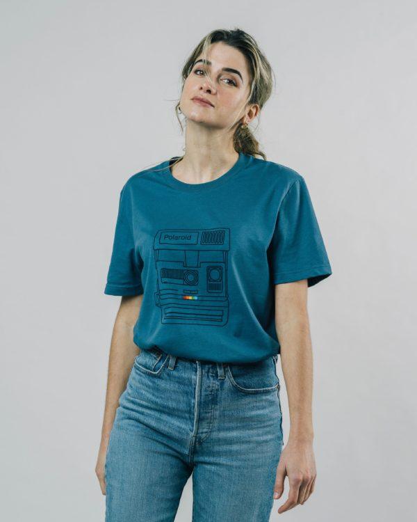 Brava Herren T-Shirt Polaroid