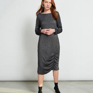 Jan´N June Damen Kleid Tribeca Silvery Black