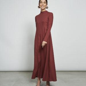 Jan´N June Damen Kleid RORY RIB FRAMBOISE