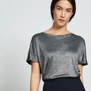Jan´N June Damen T-Shirt Nolita Silvery Black