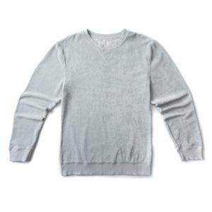 Langbrett UNISEX Pullover Frottee Hellgrau