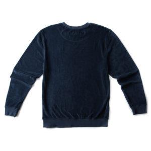 Langbrett UNISEX Pullover Frottee Dunkelblau