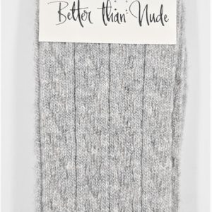 Better than Nude Damen Socken BTN353 Grey