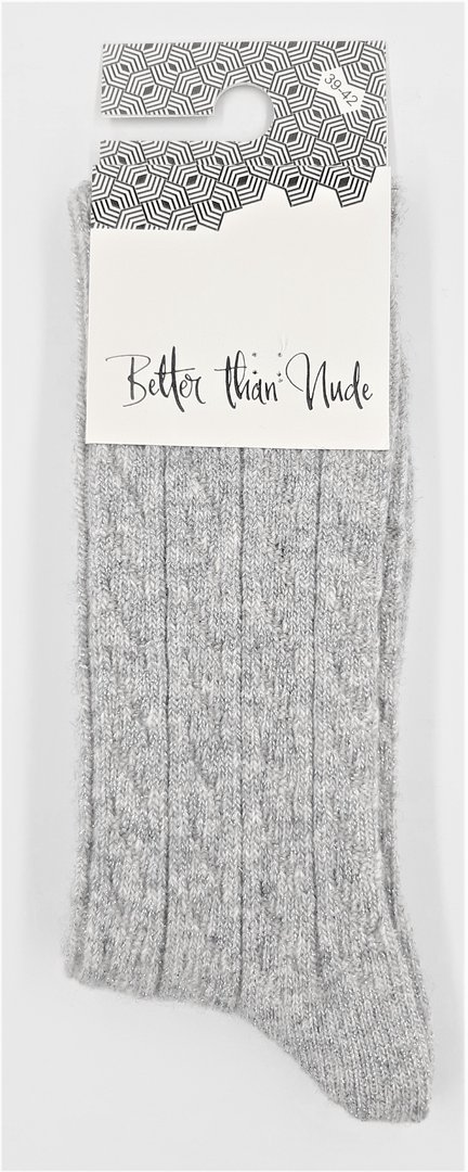 Better than Nude Damen Socken BTN353 Grey