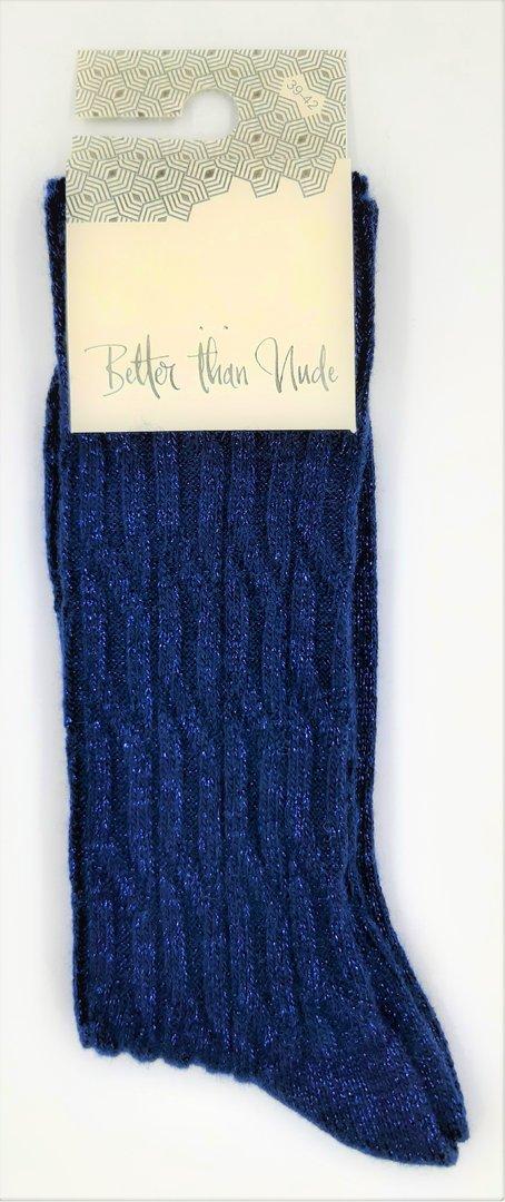 Better than Nude Damen Socken BTN353 Navy