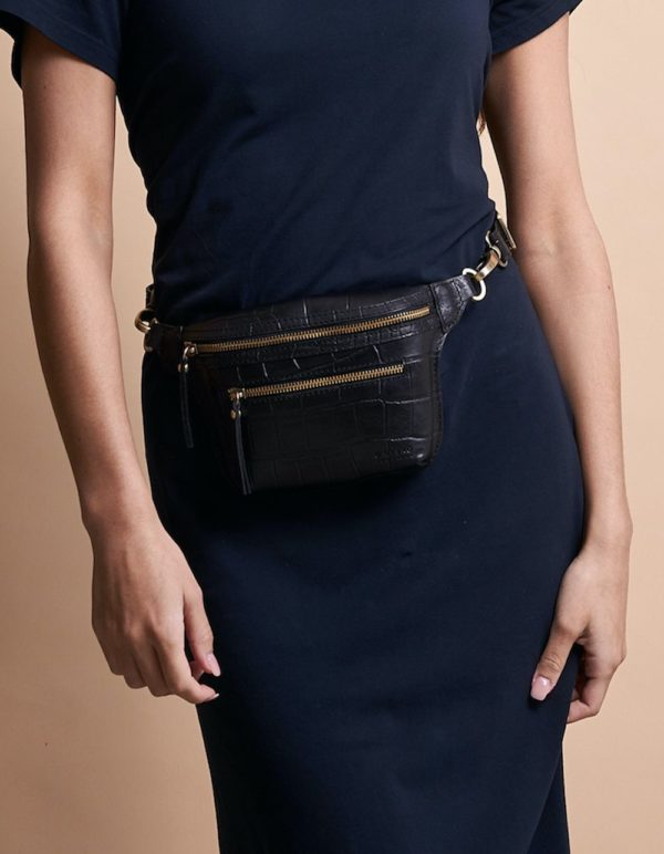 O My Bag Gürteltasche Beck's Bum Bag croco black
