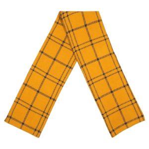 Dedicated Unisex Schal Rosse Big Check Golden Yellow