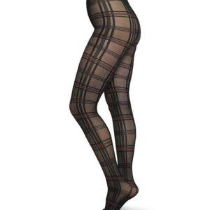 Swedish Stockings Damen Strumpfhose Lotta Check 20den
