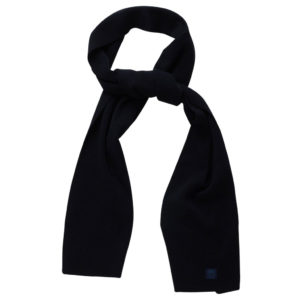 KnowledgeCotton Schal Scarf Organic Wool 82207 total eclipse one size